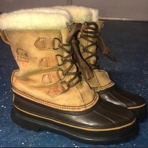 Sorel Snow Boots with felt inserts